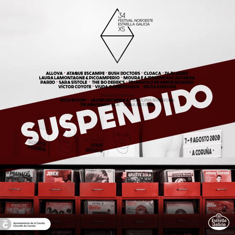 Suspensión do 34 Festival Noroeste Estrella Galicia