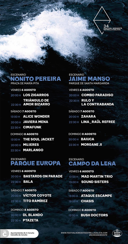 34-Festival-Noroeste-Estrella-Galicia-2021-Horarios-Concertos