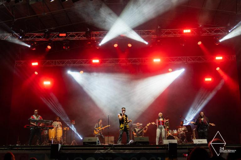 Alice Wonder, Javiera Mena y Cimafunk conquistan el corazón de A Coruña con sus conciertos en María Pita