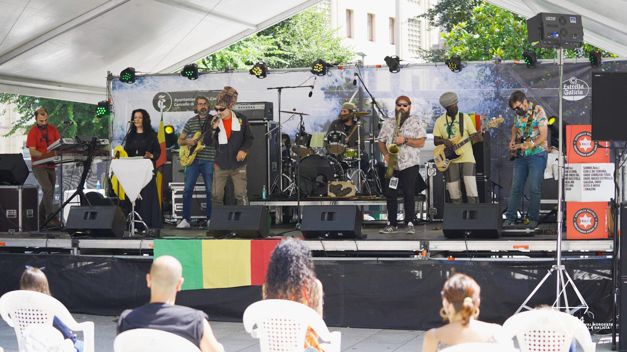 Reggae inclusivo en la útima jornada del Noroeste de la mano de Bush Doctors gracias a ACOPROS