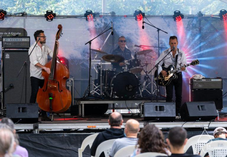 Mad Martin Trio prende o Campo da Leña mentres Sound Sisters fai soñar ao público na primeira xornada do Noroeste Estrella Galicia